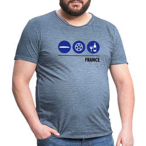 Circles - France - Men's Vintage T-Shirt