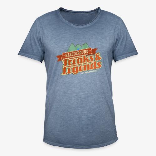 Freaks Legends 2 - Männer Vintage T-Shirt