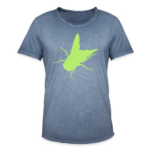 fliege - Männer Vintage T-Shirt