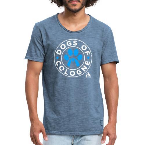 Dogs of Cologne! - Männer Vintage T-Shirt