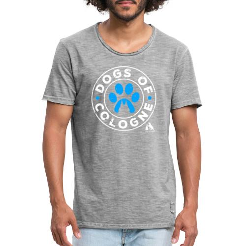 Dogs of Cologne! - Männer Vintage T-Shirt