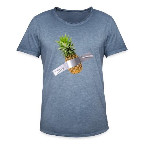 Pineapple Art - Maglietta vintage da uomo