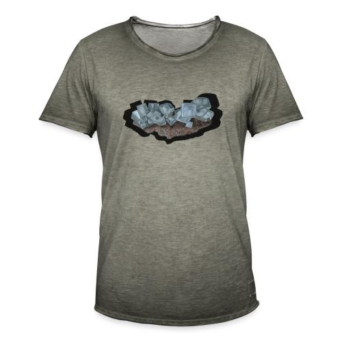 Halit-Kristallstufe - Männer Vintage T-Shirt