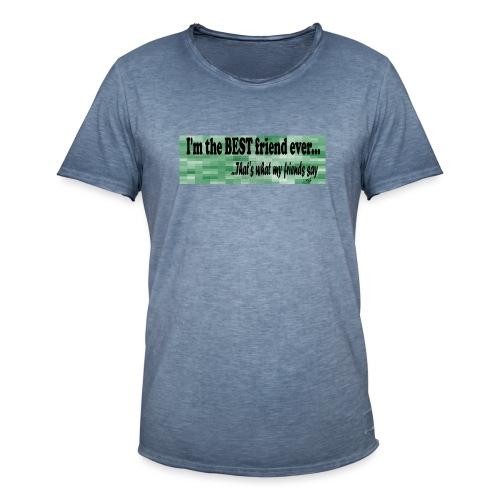 MOOD PHRASES - Camiseta vintage hombre