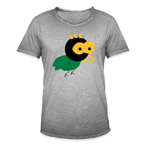 lintu-eps - Miesten vintage t-paita