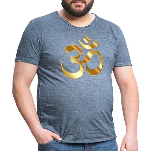 OM - Camiseta vintage hombre