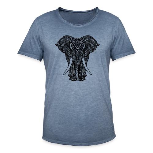 Elephant - Koszulka męska vintage