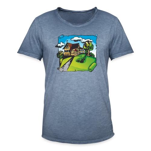 Willofs Logo farbig - Männer Vintage T-Shirt