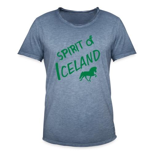 4gaits ruecken - Männer Vintage T-Shirt
