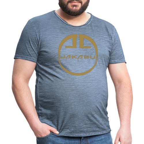 ganz gold - Männer Vintage T-Shirt