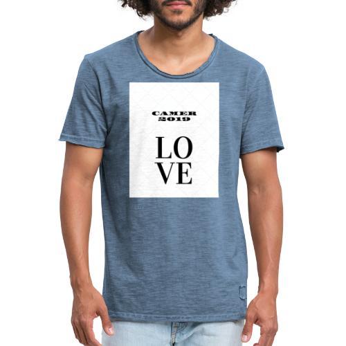 Vetements ET Produits Design 2019 - T-shirt vintage Homme