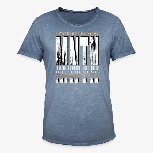 Manhattan - Maglietta vintage da uomo