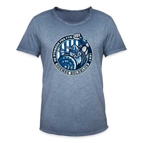 De Stribede viking & Forza Odense - Herre vintage T-shirt