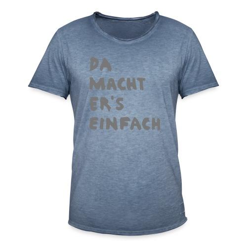 Ella Da macht ers einfach - Männer Vintage T-Shirt