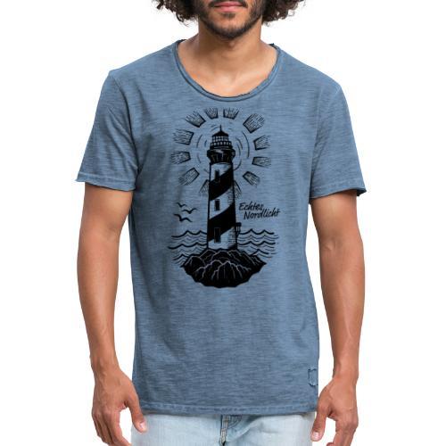 Echtes Nordlicht - Männer Vintage T-Shirt