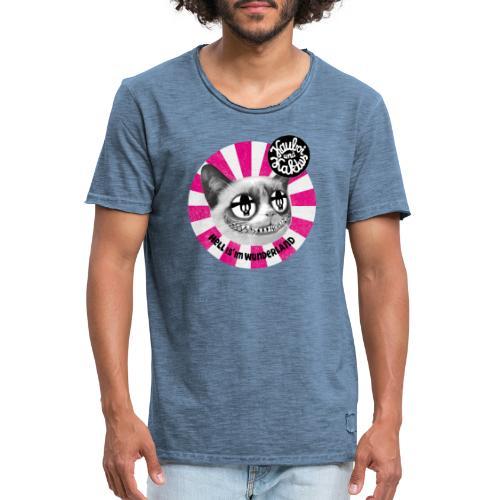 Wunderland - Männer Vintage T-Shirt