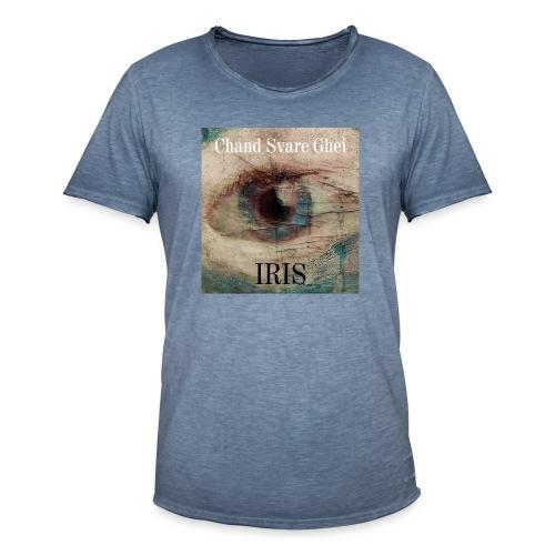 Iris - Vintage-T-skjorte for menn