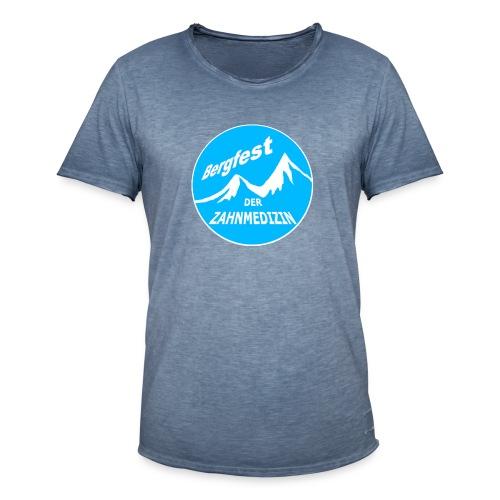 Bergfest der Zahnmedizin - Männer Vintage T-Shirt