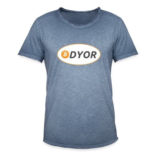 DYOR - option 2 - Men's Vintage T-Shirt