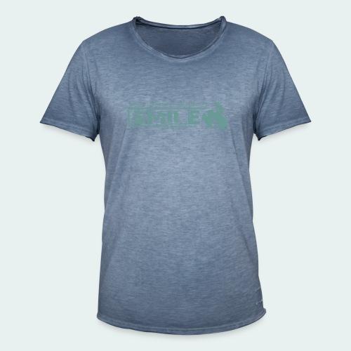 SMILE-Shirt 2018 - Männer Vintage T-Shirt