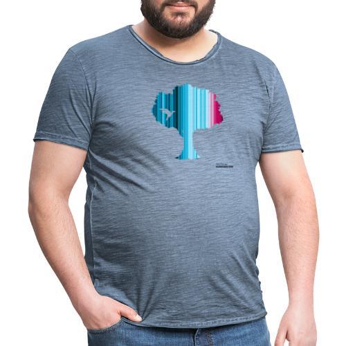 Warming stripes: Wir brauchen die Natur! - Männer Vintage T-Shirt