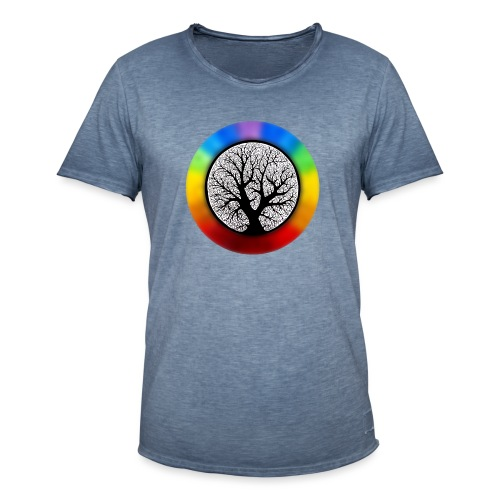 tree of life png - Mannen Vintage T-shirt