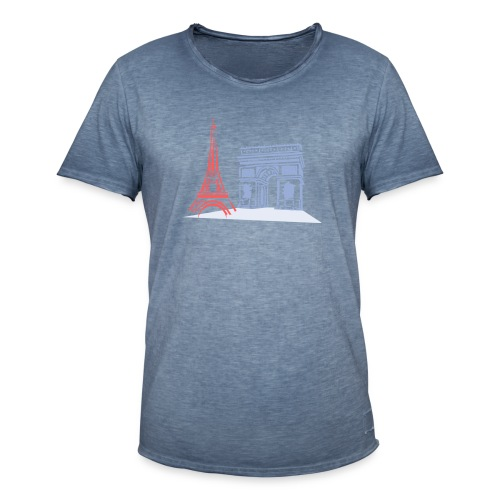 Paris - T-shirt vintage Homme