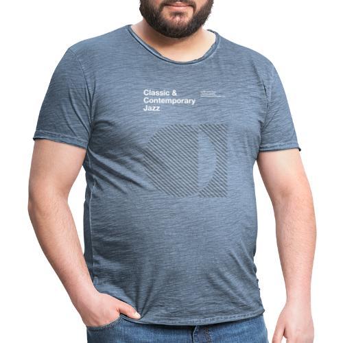 Bauhaus Jazz - Camiseta vintage hombre