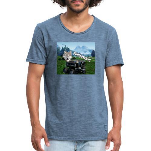 Schlepper Serie V1.1 - Männer Vintage T-Shirt