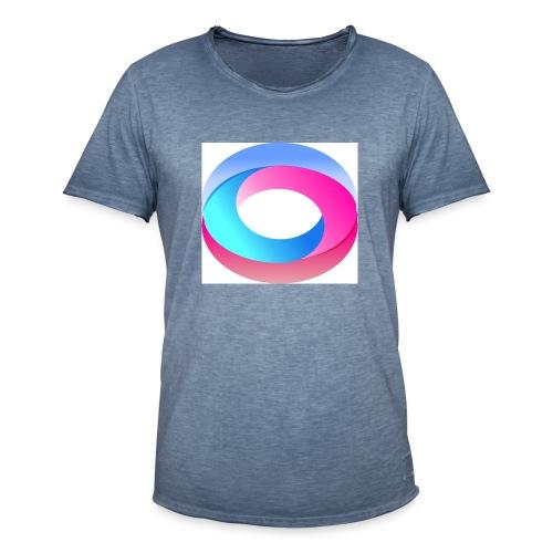 Efecto Neon - Camiseta vintage hombre