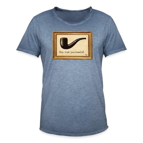 La Culture est essentielle (by EFEL) - Avec Cadre - T-shirt vintage Homme