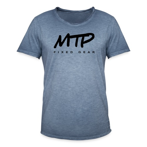 logo produits noir png - T-shirt vintage Homme