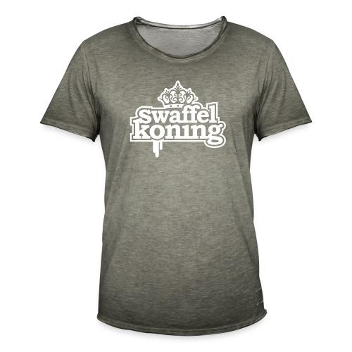 SwaffelKoning - Mannen Vintage T-shirt