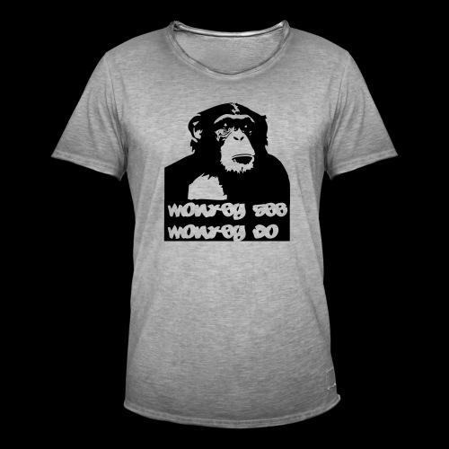 chimp - Männer Vintage T-Shirt