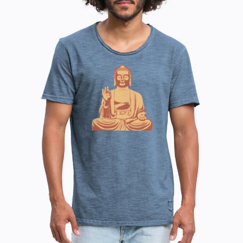 buddha om - Men's Vintage T-Shirt