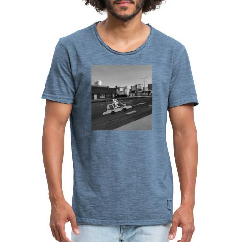 auto - Mannen Vintage T-shirt