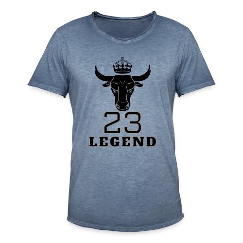 legende 23 - T-shirt vintage Homme