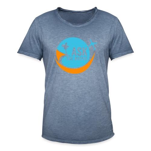Ask the Native Original Logo - Mannen Vintage T-shirt