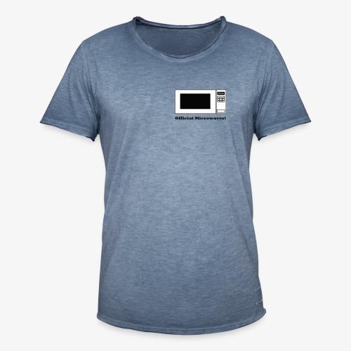 Official Microwaver! - Men's Vintage T-Shirt