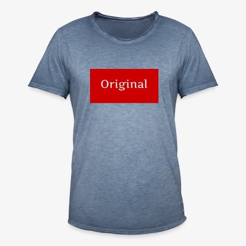 ERDesign - Original T-Shirt - Maglietta vintage da uomo