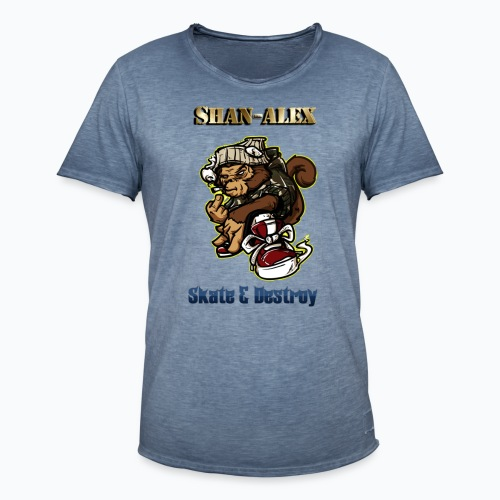 Skate - T-shirt vintage Homme