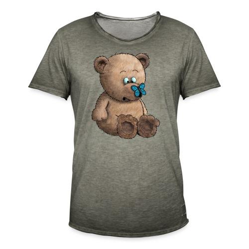 Teddybär - Männer Vintage T-Shirt