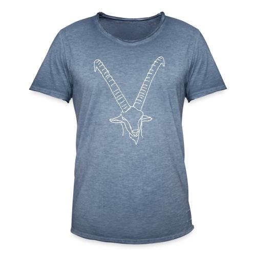 steinbock - Männer Vintage T-Shirt