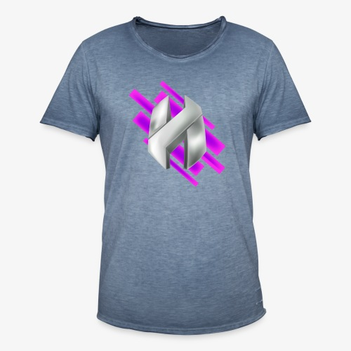 Abstract Purple - Men's Vintage T-Shirt