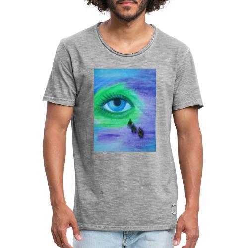Diamant - Männer Vintage T-Shirt