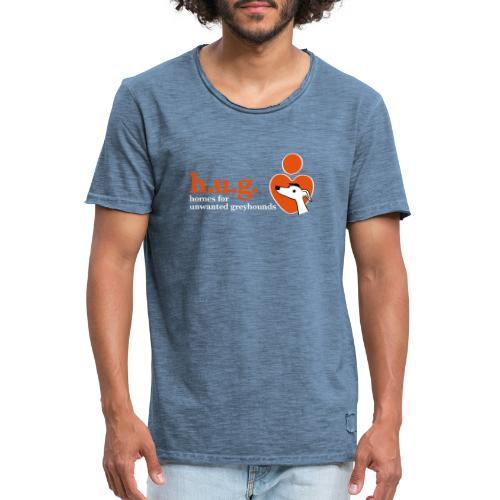 HUG logo branded gear - Men's Vintage T-Shirt