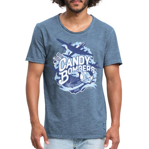 Candy Bombers Tribute - Männer Vintage T-Shirt