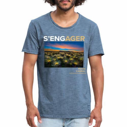 1 Achat = 1 Don Fondation Yann Arthus-Bertrand - T-shirt vintage Homme