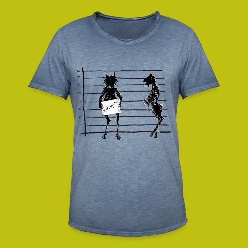 satiro - Camiseta vintage hombre
