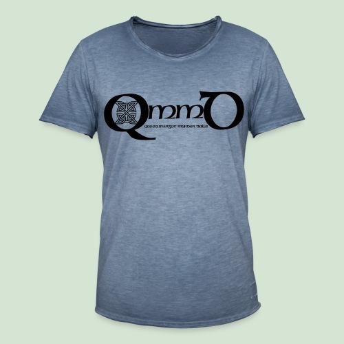 QmmD Logo Black - Männer Vintage T-Shirt